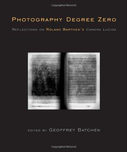 fotografía grado cero: reflexiones sobre la i cámara de
