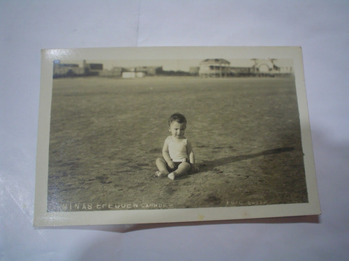 fotografia minas epecuen carhue foto suizo niño balneario