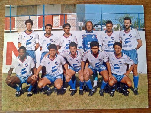 fotografia original club nacional futbol 1992 18 x 13 cm.