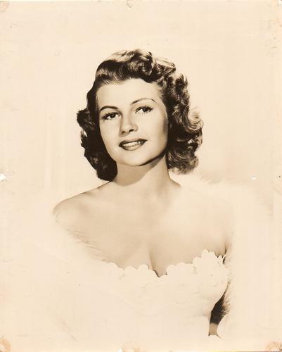 fotografía original de la actríz americana rita hayworth