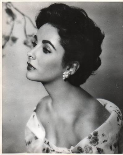 fotografia original de la actriz britanica elizabeth taylor
