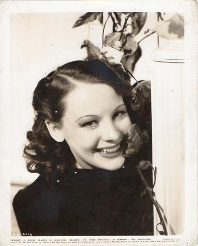 fotografía original de la actríz sueca signe hasso 1941 rko