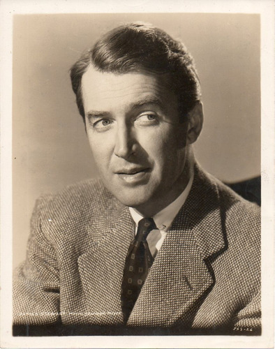 fotografia original del actor americano james stewarant 1956