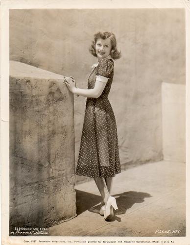 fotografia original eleanore whitney paramount pictures 1937