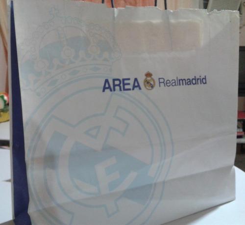 fotografía original firmada por ronaldo, real madrid