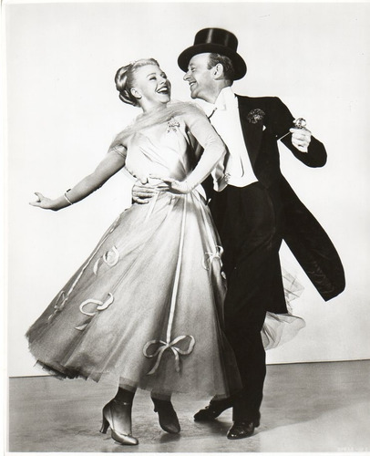 fotografia original ginger rogers fred astaire