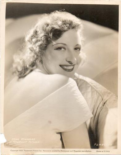 fotografia original jean fenwick in paramount pictures 1938