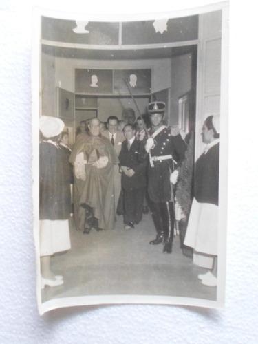 fotografia original juan domingo peron inauguracion hospital
