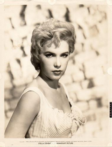 fotografía original stella stevens a paramount picture 1959