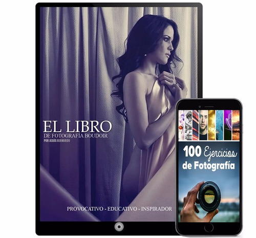 fotografía portafolio modelos colección 40 libros - digital