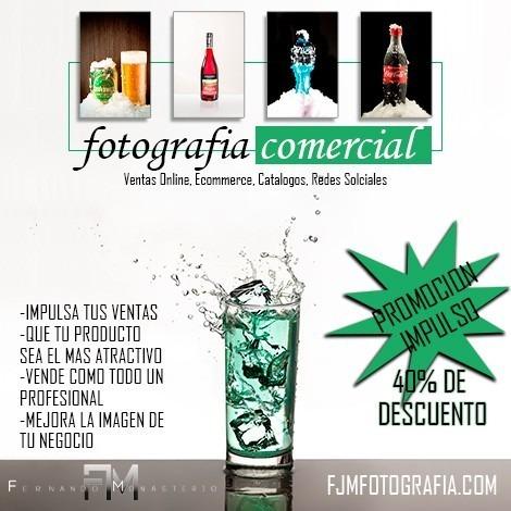 fotografía profesional de productos