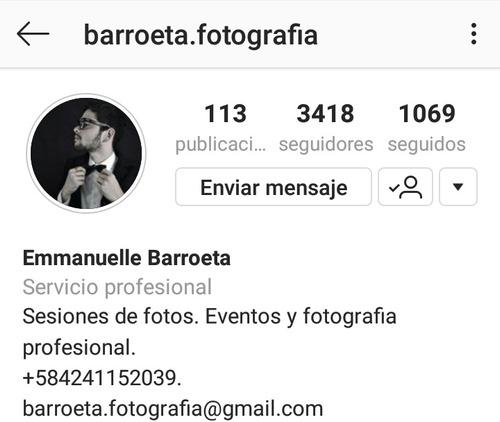 fotografia profesional, eventos, sesiones, videos y mas!