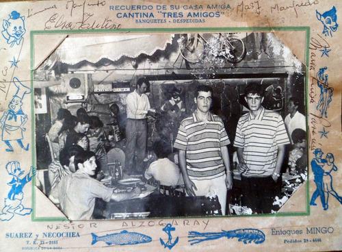 fotografia recuerdo cantina tres amigos la boca bs. aires