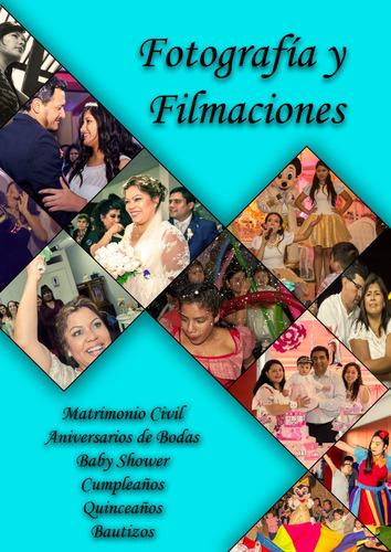 fotografía y filmaciones profesionales
