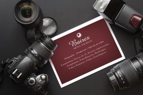 fotografía y video de eventos