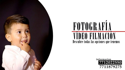 fotografía y video filmación