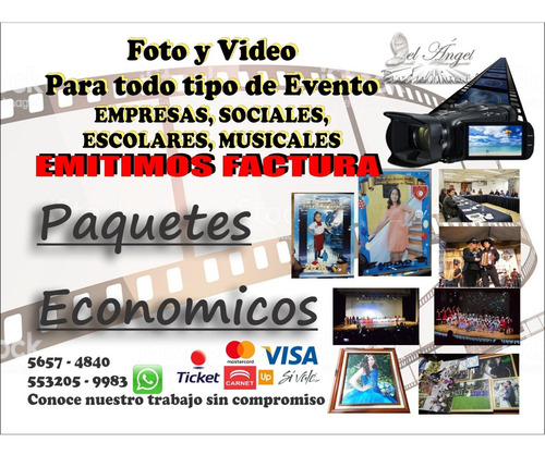 fotografia y video para todo tipo de evento