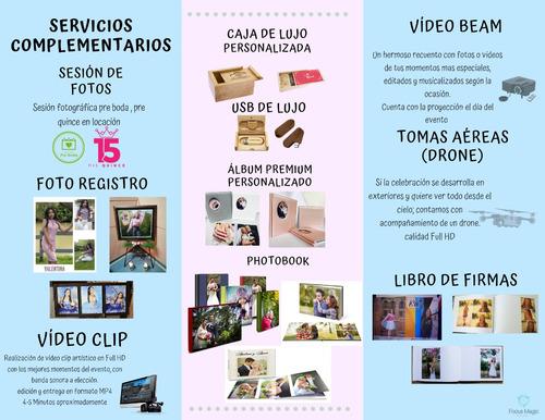 fotografía y video profesional para eventos.