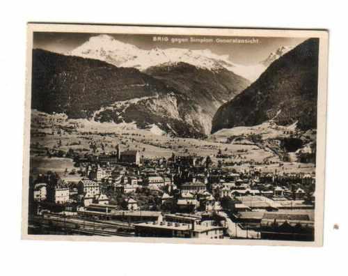 fotografias (3) brig ciudad de los alpes - suiza - antigua