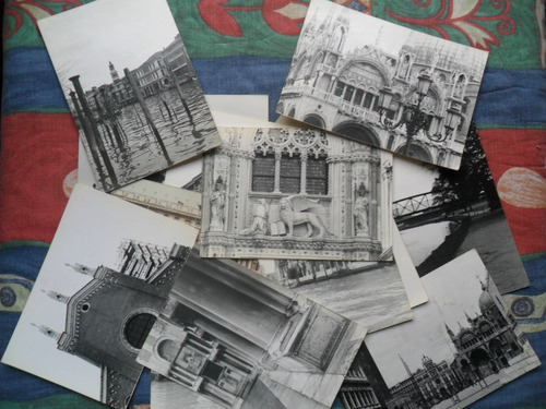 fotografias antiguas de italia - venecia