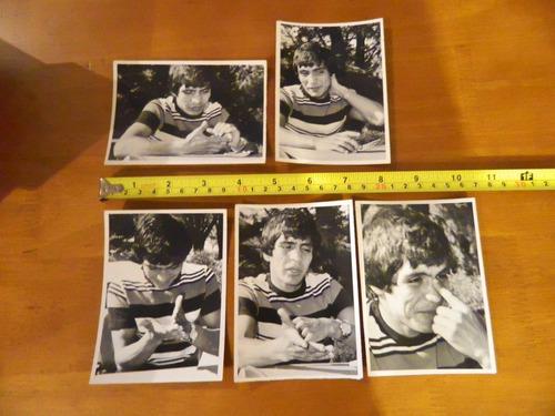fotografías de martín vargas es sus primeras entrevistas...
