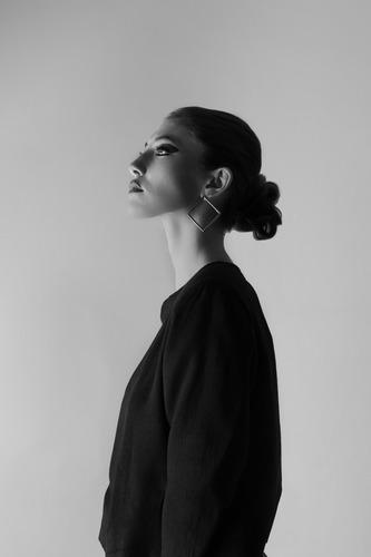 fotógrafo / fotografía de moda / sesión de fotos en estudio