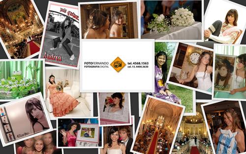 fotografo para cumpleaños, bodas, sociales. video digital hd