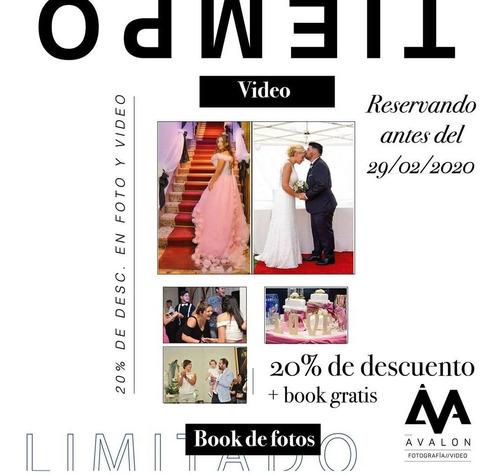fotografo profesional fotografía filmación video 15años book