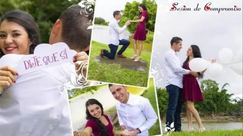 fotografo y camarografo, 15 años y boda