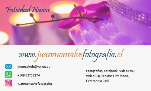 fotógrafo y video matrimonios, eventos, web, empresas