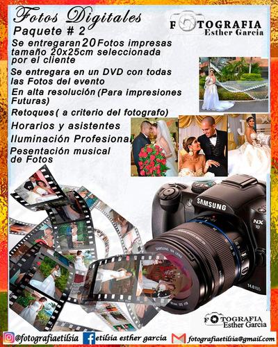 fotografos profesionales  etilsia esther garcia