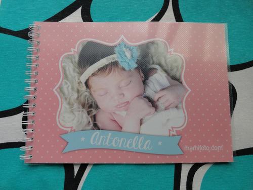 fotolibro firmas dedicatoria cumpleaño,bautismo,baby shower