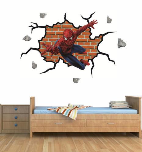 fotomurales 3d hombre araña - cali