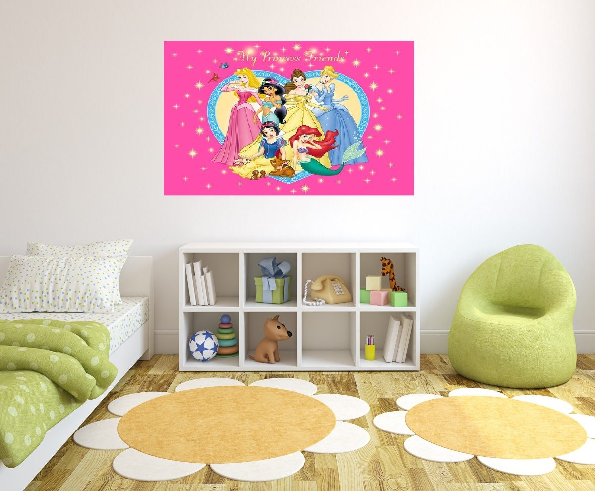 Fotomurales adhesivos decorativos cuarto ni as y jovenes - Fotomurales adhesivos pared ...