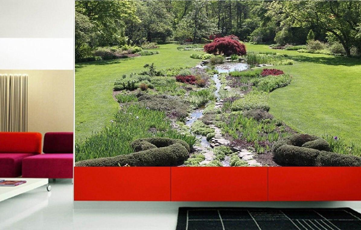 Fotomurales adhesivos decorativos jardines en - Fotomurales adhesivos pared ...