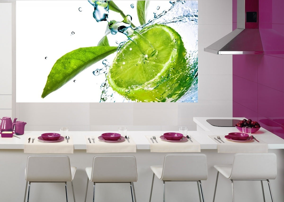 Fotomurales adhesivos decorativos para la cocina 100 for Vinilos adhesivos para frigorificos