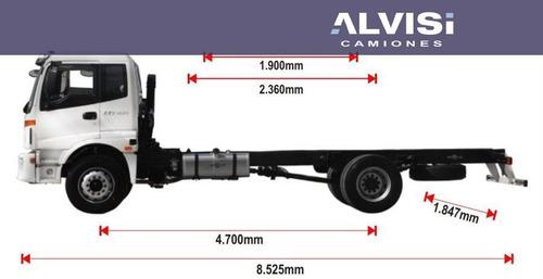 foton auman 1133 cummins 210 hp carga 10 toneladas + iva
