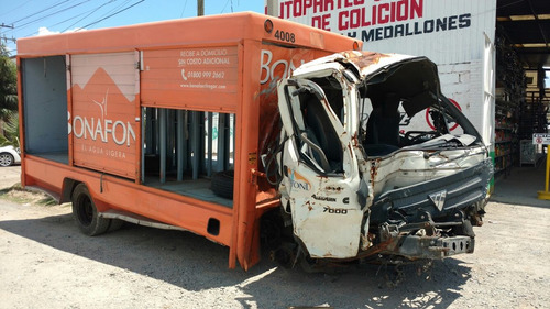 foton aumark 7000 2013 accidentado x partes