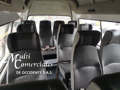 foton bj6536 mod 2015 a/a, 16 pasajeros, servicio especial