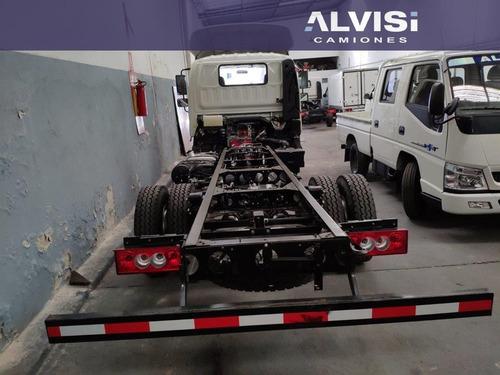 foton camión bj1061 cummins carga 6 ton. chasis + iva