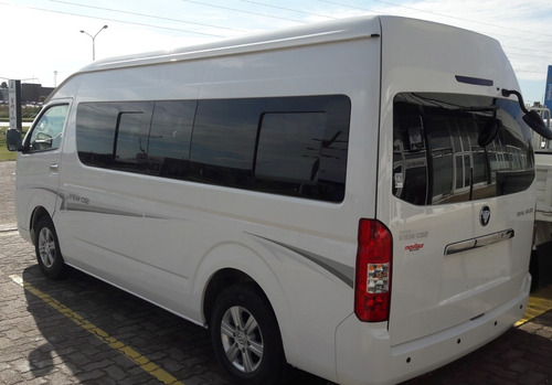 foton cs2 view  mini bus homologado 15 + 1  en stock