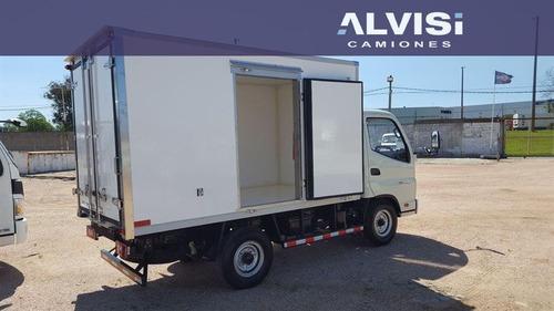 foton isuzu rueda sencilla 1039 box furgon precio sin iva