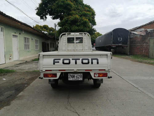 foton mini truck  1.249c.c  2017 blanca 2 puertas