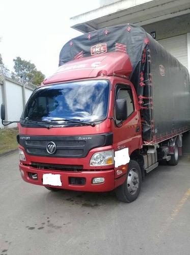 foton modelo 2017.4 toneladas .afiliado a la empresa corbeta