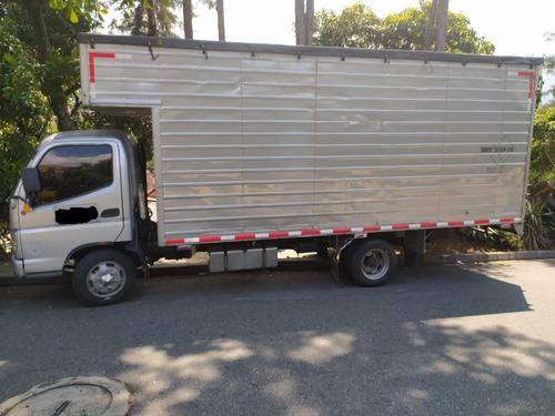 foton olin furgon modelo 2012