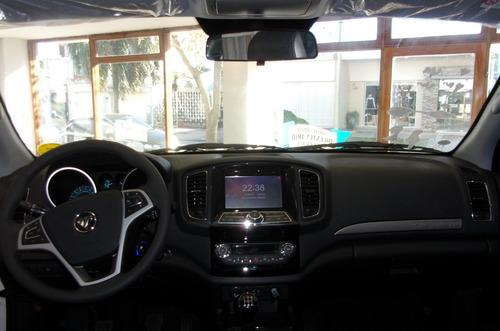 foton tunland luxury d/c cummins 4x4 0km año 2019 disponible