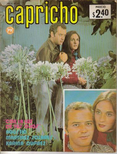 fotonovela capricho: agustin martinez y karina duprez