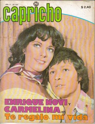 fotonovela capricho: enrique novi y carmelina