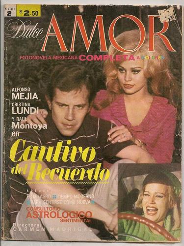 fotonovela dulce a color alfonso mejía cristina lundi 1971