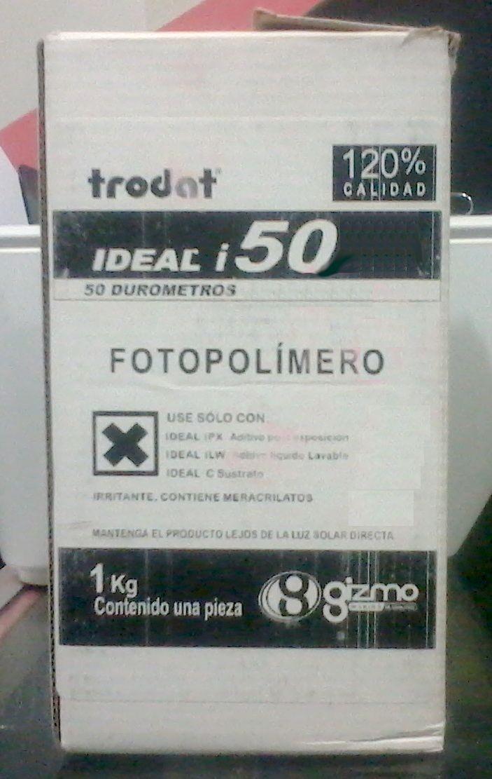Fotopolimero para sellos trodat color rojo 50 durometros for Comprar azulejos sueltos